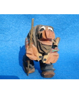 hand carved tiny wooden troll-possible Anri - $80.00