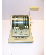 Vintage Paymaster Ribbon Writer Series 8000 Che... - $166.55