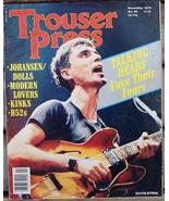 Trouser Press TP 44 David Byrne Talking Heads - $6.99