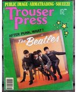 Trouser Press TP 51 Beatles cover, Public Image, Romantica