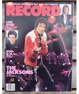 Record Magazine Vol 3 No 12 Michael Jackson cover