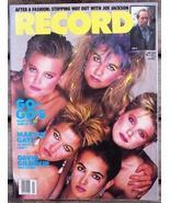 Record Magazine Vol 3 No 9 The Go-Go's cover - $6.99