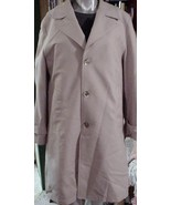 MENS NWOT FELLINI CLASSIC TRENCH COAT OVERCOAT 40R - $65.95