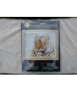 Bucilla Siberian Tiger 16 X 20 inch Counted Cro... - $14.99