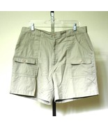 WINDHAM POINTE Men's Khaki Cargo Shorts Poly Co... - $5.50