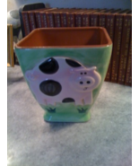 Molde Portugal Ceramic Terracotta Raised Pig De... - $10.00