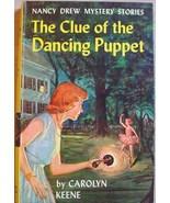 Nancy Drew #39 CLUE OF THE DANCING PUPPET pictu... - $29.00