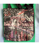 Handmade Tapestry Bag-greens 11 X 12inches - $3.99