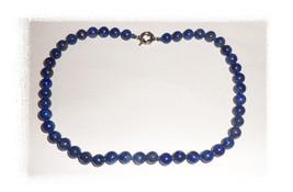 Blue Lapis Lazuli knotted necklace - $39.00