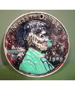 Giant Metal Penny Folk Art - $10.99