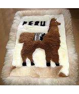 Motive Alpaca fur rug from Peru,carpet 35 x 23 ... - $103.00