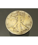 1945 Walking Liberty Half Dollar Coin 90% Silver - $35.00