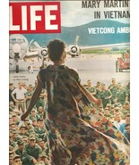 LIFE MAGAZINE - 10/22/1965 MARY MARTIN IN VIETNAM - $15.75