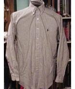 Nice Ralph Lauren Mens Shirt 100% Cotton L/S Si... - $15.00