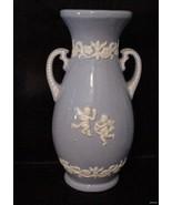 Wedgewood Jasperware Two-handled Vase Urn Angel... - $29.51