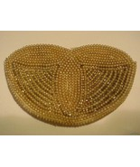 Women's Vintage Faux Pearl Beaded Clutch Handba... - $31.95