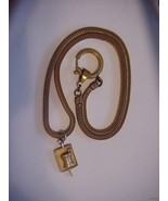 VINTAGE WATCH FOB WITH 10K GF MORTAR & PESTLE R... - $49.45