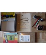 Calligraphy Books/3 bottles Ink/ Pen/Learning B... - $29.95