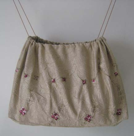 Duster Dust Bag Cover 4 Purse Shoes Embroidered Roses Fitt