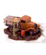 Log Truck At Gas Pump - $21.49