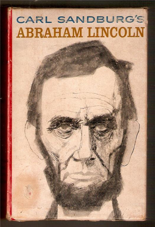 Carl Sandburg's Abraham Lincoln 3 book boxed set 1960