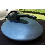 Flat aluminum teapot Lot  247 - $45.00