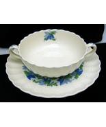 Two Spode Copeland Valencia Pattern Cream Soup ... - $39.59