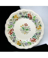 Royal Doulton Stratford Dinner Plate Colored Fl... - $24.74