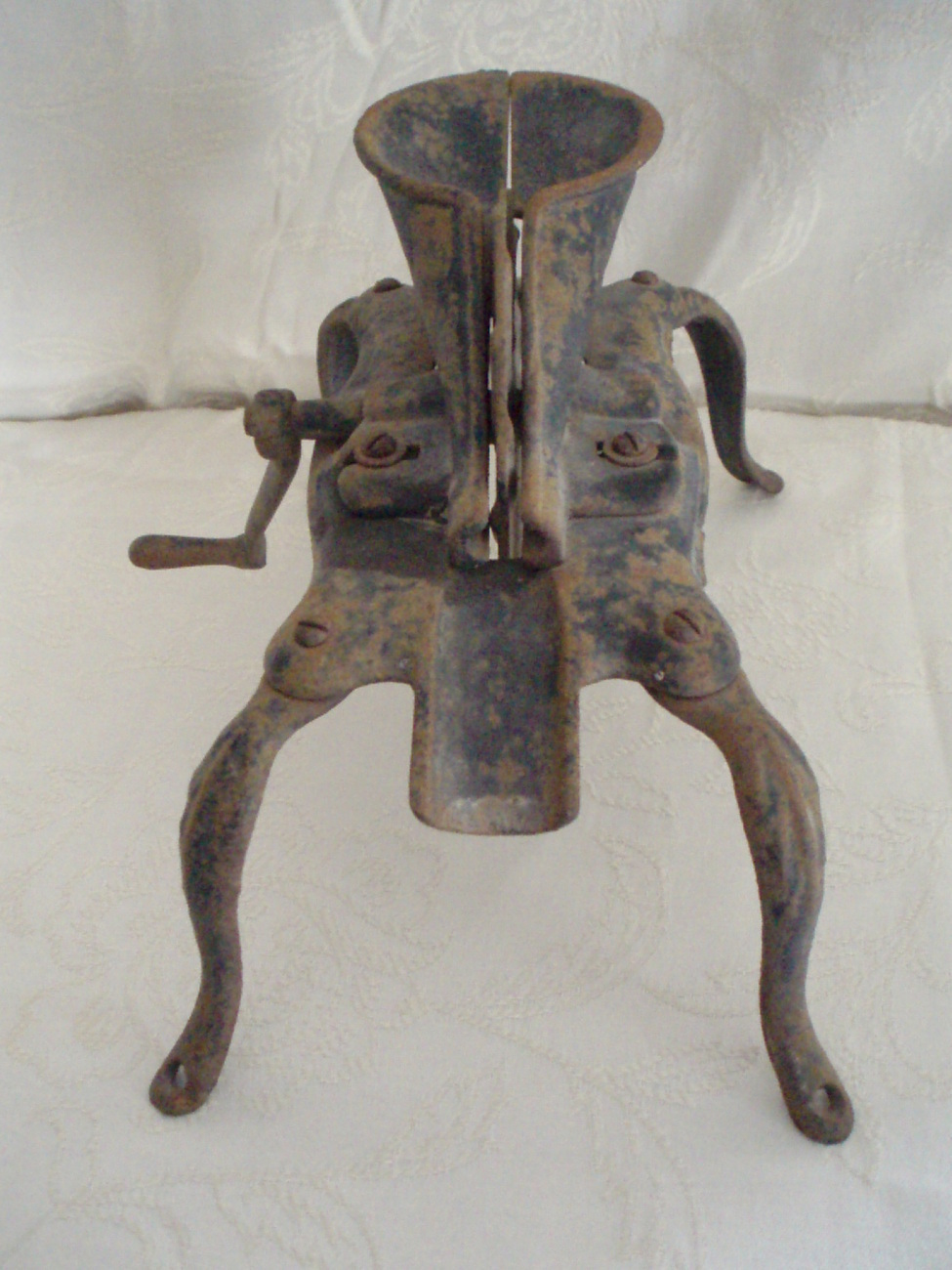 antique cherry pitter stoner manual cast iron circa 1870