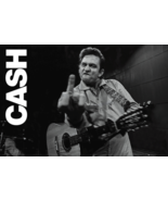Johnny Cash San Quentin Finger Poster - $4.95