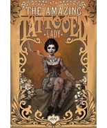 The Amazing Tattooed Lady Poster - $5.44