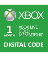 1-Month Xbox 360/ONE Live Membership Gold Card ... - $12.90