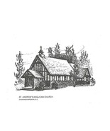 Note Cards St Andrew's old Anglican Church Okan... - $9.94