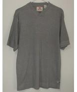 Mens Levis Short Sleeve V Neck Gray Shirt Size M - $5.00