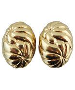1980s Jacky de G Runway Couture Swirl Earrings ... - $105.00