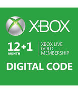 12+1 =13-Month Xbox 360/ONE Live Gold Membershi... - $54.90