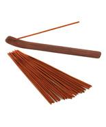 incense and burner Exotic safari woods and spic... - $6.49