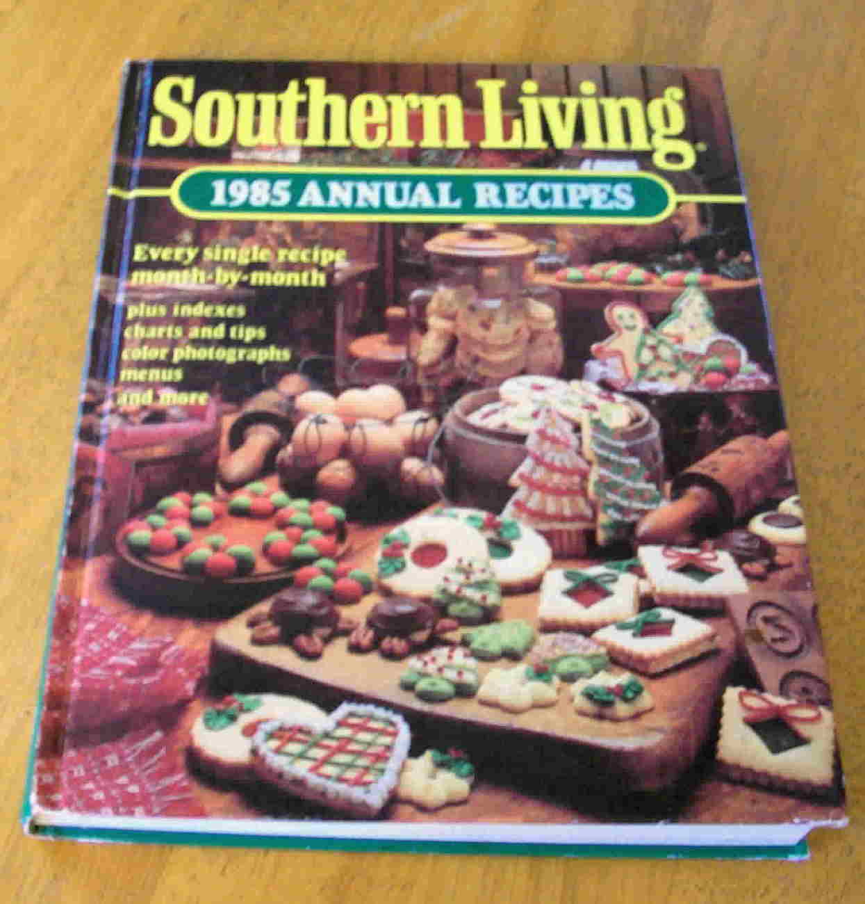 Southern Living 1985 Annual Recipes Hardback