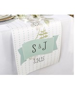 Personalized Rustic Wedding Table Runner Flower... - $39.58 - $45.52