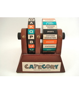 vintage wooden Category game - $35.00