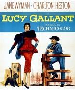 Lucy Gallant 1955 DVD Jane Wyman Charlton Heston  - $9.00
