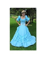 Gown dress Fairytale Antebellum Victorian masqu... - $150.00
