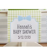 Personalized My Little Man Baby Shower Table Ru... - $39.58 - $45.52
