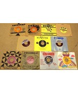 Bundle of 11 Miscellaneous 7in Vinyl Records Co... - $31.99