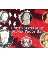 2003 Silver (5) Coin Proof Set US Coins  - $25.00