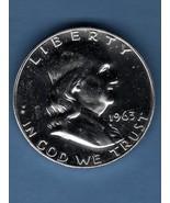 1963 Prf. Half Dollar Silver USCoin Money - $20.00