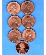 Lot BU  Lincoln Head Pennies US Cents 1944 S-19... - $4.99