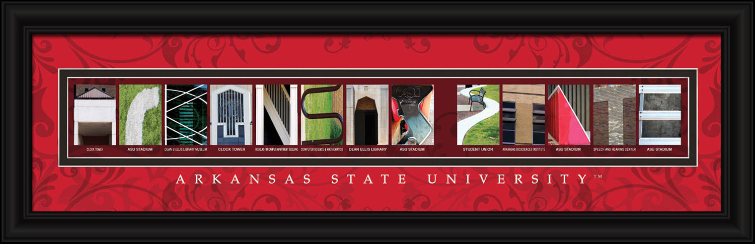 Arkansas State University Officially Licensed Framed