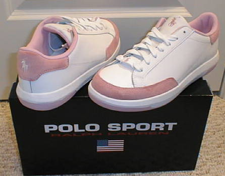 NEW POLO SPORT RALPH LAUREN Womens Leather Shoes Snea