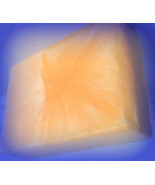 Orange sherbet goats milk glycerin soap - $3.50